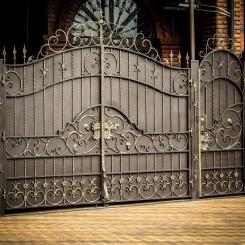 Кованые ворота КВ_22