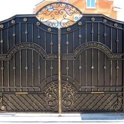 Кованые ворота КВ_76