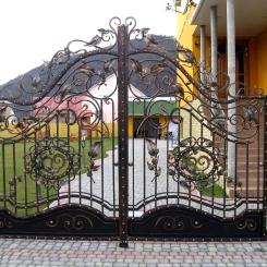 Кованые ворота КВ_77