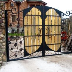 Кованые ворота КВ_80