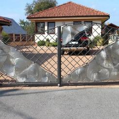 Кованые ворота КВ_87