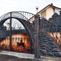 Кованые ворота КВ_88