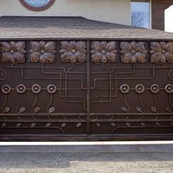 Кованые ворота КВ_96