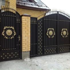 Кованые ворота КВ_97