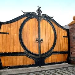 Кованые ворота КВ_99