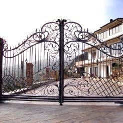Кованые ворота КВ_103