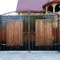 Кованые ворота КВ_106