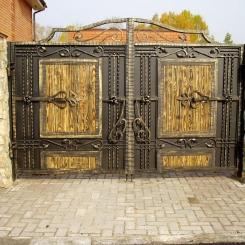 Кованые ворота КВ_107
