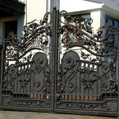 Кованые ворота КВ_26