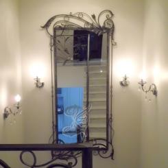 Зеркало в лестничном пролёте КЗ_3