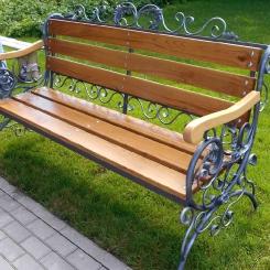 Кованые скамейки КС_10