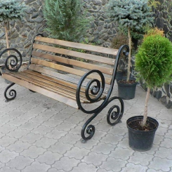 Кованые скамейки КС_16