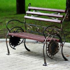 Кованые скамейки КС_17