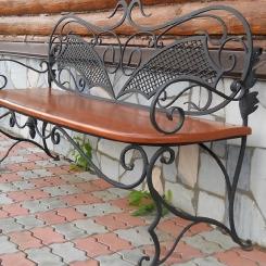 Кованые скамейки КС_25
