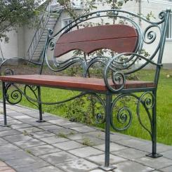 Кованые скамейки КС_26