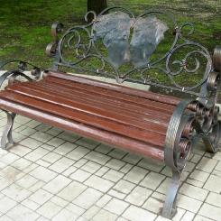 Кованые скамейки КС_33