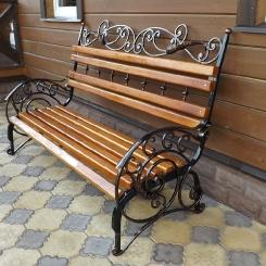 Кованые скамейки КС_8