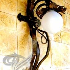 Кованый светильник на стену КС_1
