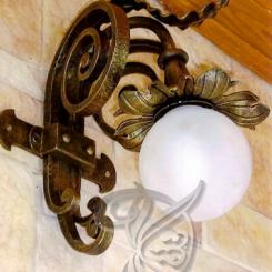 Кованый светильник уличный КС_3