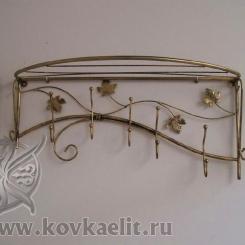 Кованая вешалка КВ_12