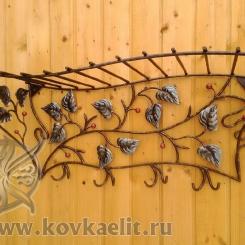 Кованая вешалка КВ_3