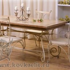 Кованый стол и стулья КСС_17