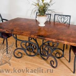 Кованый стол и стулья КСС_20