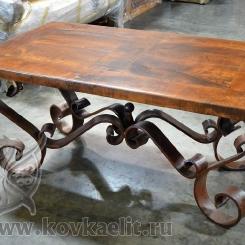 Кованый стол и стулья КСС_21