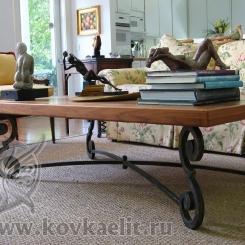Кованый стол и стулья КСС_26