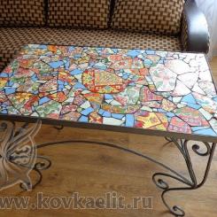 Кованый стол и стулья КСС_27