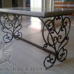 Кованый стол и стулья КСС_30