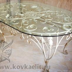 Кованый стол и стулья КСС_33