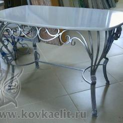 Кованый стол и стулья КСС_34