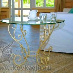 Кованый стол и стулья КСС_35
