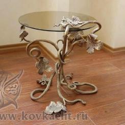 Кованый стол и стулья КСС_40
