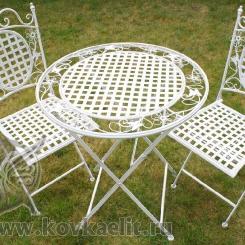 Кованый стол и стулья КСС_7