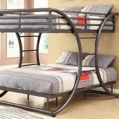 Кованая кровать LOFT_15