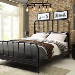 Кованая кровать LOFT_2