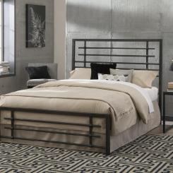Кованая кровать LOFT_3