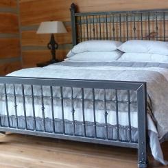 Кованая кровать LOFT_5