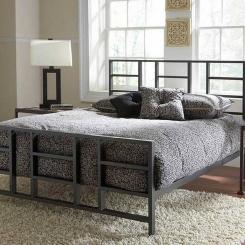 Кованая кровать LOFT_9