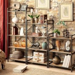 Кованые шкафы и стеллажи LOFT_13