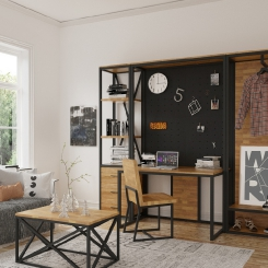 Кованые шкафы и стеллажи LOFT_14