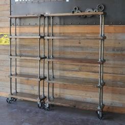 Кованые шкафы и стеллажи LOFT_25