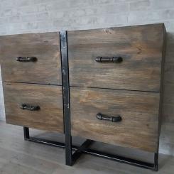 Кованые шкафы и стеллажи LOFT_26