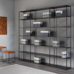 Кованые шкафы и стеллажи LOFT_5