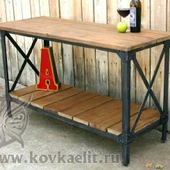 Кованые столы LOFT_55