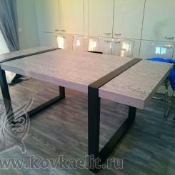 Кованые столы LOFT_58