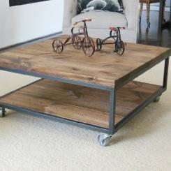 Кованые столы LOFT_24