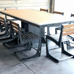 Кованые столы LOFT_30